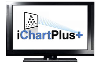 iChartPlus: Digital Computer Eye Chart & Visual Acuity Testing Software